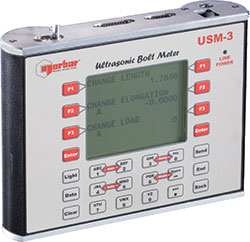 USM – Ultrasonic Bolt Measurement